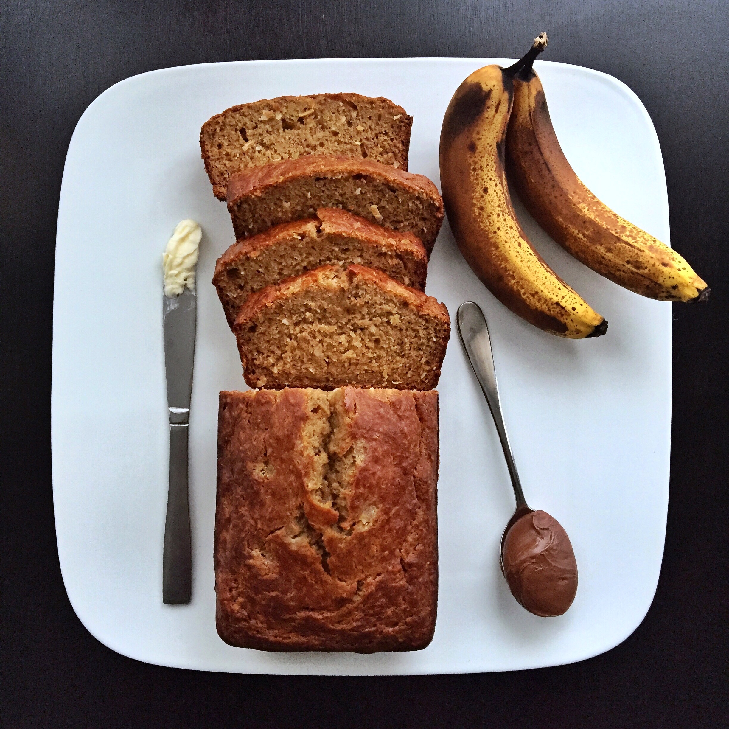 Snowstorm Sea Salt Caramel Banana Bread Recipe